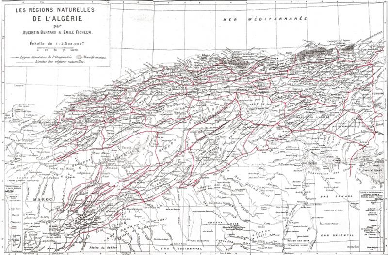 Les régions naturelles de l'Algerie DeprestF2