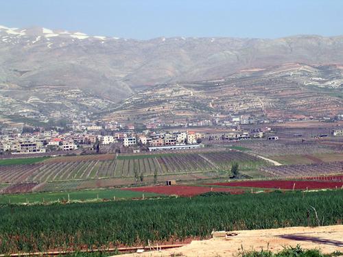 la bekaa liban un espace g233ostrat233gique